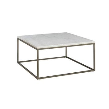 Alana White Marble Square Coffee Table | Overstock.com Shopping - The Best Deals on Coffee, Sofa & End Tables
