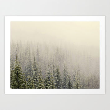 Mountain Haze Art Print by Kurt Rahn