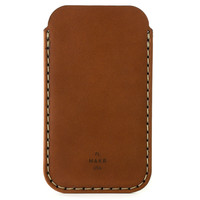 MAKR iPhone 5 Sleeve - Saddle Tan