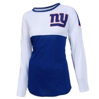 NY Giants Vortex Ladies Long Sleeve