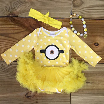 Stuart The Minion Tutu Onesuit