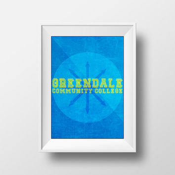 Community Poster, Greendale Community College, Movie Poster, TV Show, TV Series