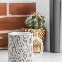 Heather Dutton Fuge Stone Coffee Mug