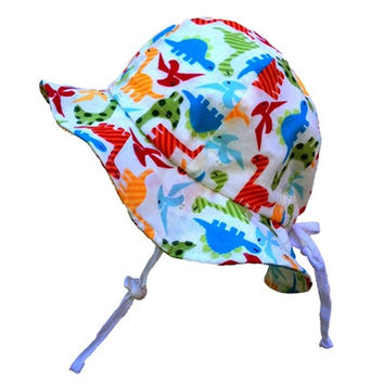 Baby & Toddler Adjustable Sun Hat - Dino