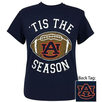 Auburn Tigers Preppy Tis the Season T-Shirt