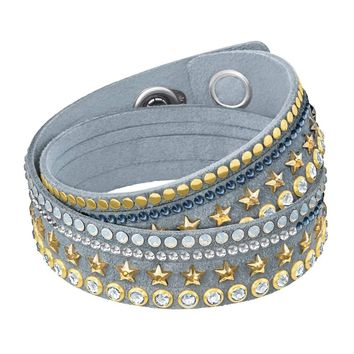 Swarovski Crystal SLAKE STARS Wrap Bracelet, Multi-Colored -5285534