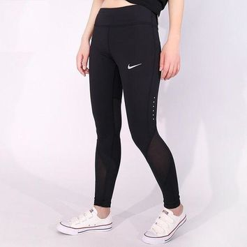 ONETOW Day-First? Nike Pro Exercise Fitness Gym Running Training Leggings