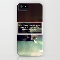 After Silence iPhone Case by Galaxy Eyes