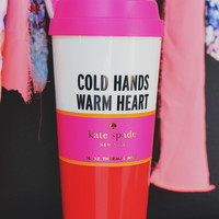 Kate Spade Warm Heart Thermal Mug