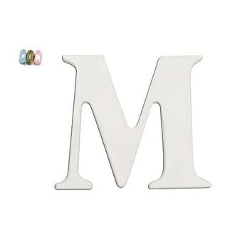 "Babies""R""Us M Wooden Personalizable Letter Wall Decor"