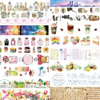 1 pcs Washi Tapes Perfume Coffee DIY Paper Masking tape Decorative Adhesive Tapes Scrapbooking Stickers