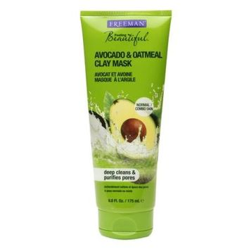 Freeman Feeling Beautiful Facial Clay Mask Avocado & Oatmeal | Walgreens