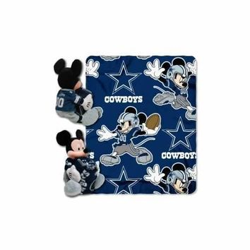 Dallas Cowboys Disney Hugger 40x50 Blanket