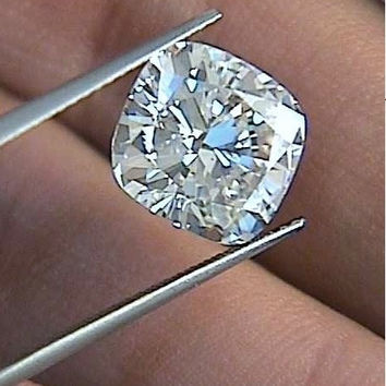10.09ct D-VS1 Cushion Diamond Loose Diamond GIA certified Jewelry JEWELFORME BLUE