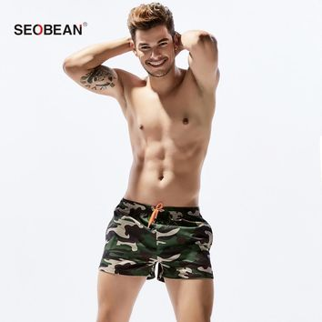 NEW Brand Quick Drying Mens Army green Active swim Trunks Workout Cargos Mens Jogger Boxers Sweatpants Beach Short Bottoms