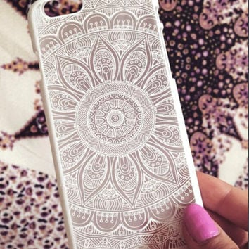 Vintage Lace Floral iPhone 5 5s iPhone 6 6s Plus iPhone 7 Case Cover Free Shipping+ Free Gift Box