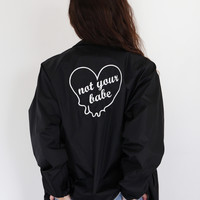 Not Your Babe Windbreaker