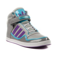 Womens adidas ADI-Rise 2.0 Athletic Shoe, GrayPurpleBlue  Journeys Shoes