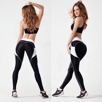 DCCKH6B 2017 New Quick-drying Gothic Leggings Fashion Ankle-Length Legging Fitness Leggings with Pocket Sexy Leggings