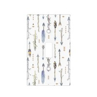 Chic Boho Tribal Arrows Light Switch Cover