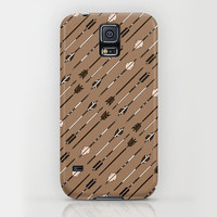 iPhone 6 ihone 6 Plus iPhone 5 iPhone 5s iPhone 5c iPhone 4 iPhone 4s Samsung Galaxy S5 Galaxy S4 Phone Case. Ethnic  Brown Tribal Arrows
