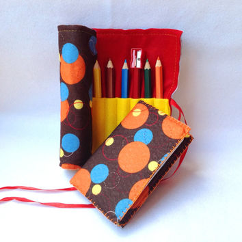 Free shipping, Back to School, Printed Felt Drawing Set, Pencil Case, Drawing Book, Coloring Pencils, Colouring book, Desk Office Organizer