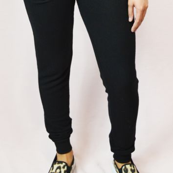 comfort first joggers - black