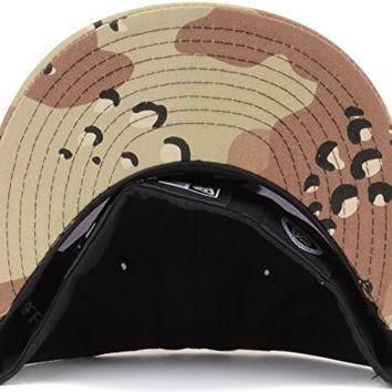 "New Jersey Devils New Era NHL 59FIFTY Fitted Cap Hat ""3-Way 6Day Camo"" (7 1/8, Black-W"