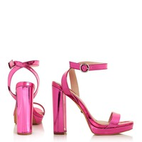 LUXURY Slim Platform Sandals - New In This Week - New In