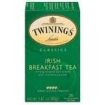 Twinings Irish Breakfast Tea (6x20 Bag)