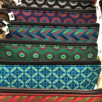 Small ShweShwe Cosmetic and Toiletry Bags
