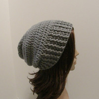 Everyday Slouch Hat  Silver Gray