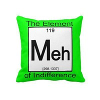 Element MEH Throw Pillows from Zazzle.com