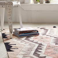 Plum & Bow Samarkand Kilim Woven Rug - Urban Outfitters