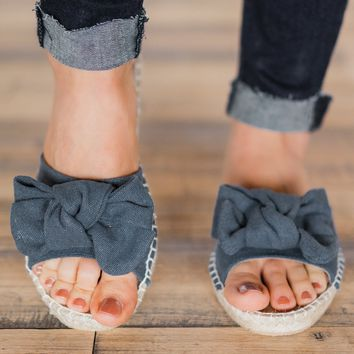 Not Rated Erra Sandals- Denim