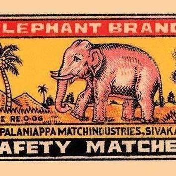 Elephant Brand (Canvas Art)