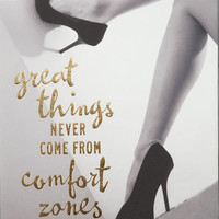 Great Things Shoes Wall Art