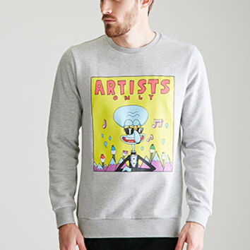 Heathered Artists Only Squidward Sweatshirt