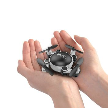 Mini RC Drone Quadcopters Folding Remote Control Helicopter Mode Drone RTF Without Camera Mini Dron Best Toys Gift For Children