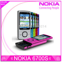 Refurbished 6700S Original Nokia 6700 Slider Cell Phone Unlocked 5MP 6700 Slide Bluetooth Free Shipping