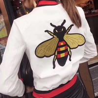 Gucci Bee embroidered jacket 3- colors -1