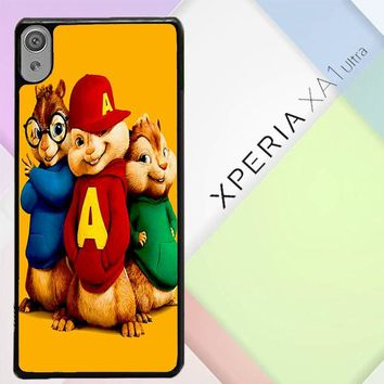Alvin And The Chipmunks Character V 2074 Sony Xperia XA1 Ultra Case
