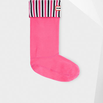 Hunter Original Deck Chair Stripe Boot Socks