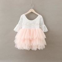 Girls Party wedding Dress
