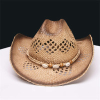 Hollow Cowgirls Straw Hat