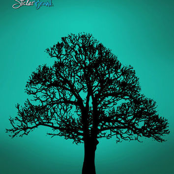 Vinyl Wall Decal Sticker Big Tree #545