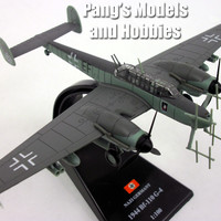 Messerschmitt Bf-110 German Bomber 1/100 Scale Diecast Metal Model by Amercom
