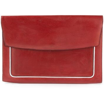 Delvaux Vintage 'Unique Bi-Color' Clutch