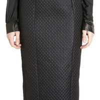L'Wren Scott Tuxedo Bib Blouse Sale up to 70% off at Barneyswarehouse.com