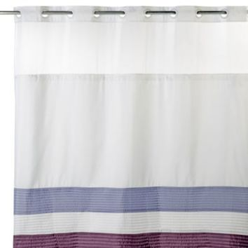 Hookless® 71-Inch x 74-Inch Shower Curtain and Liner in Amethyst